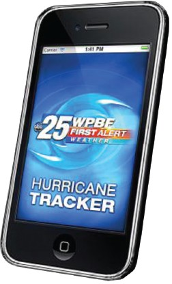 For complete hurricane information, download WPBF's free, new mobile