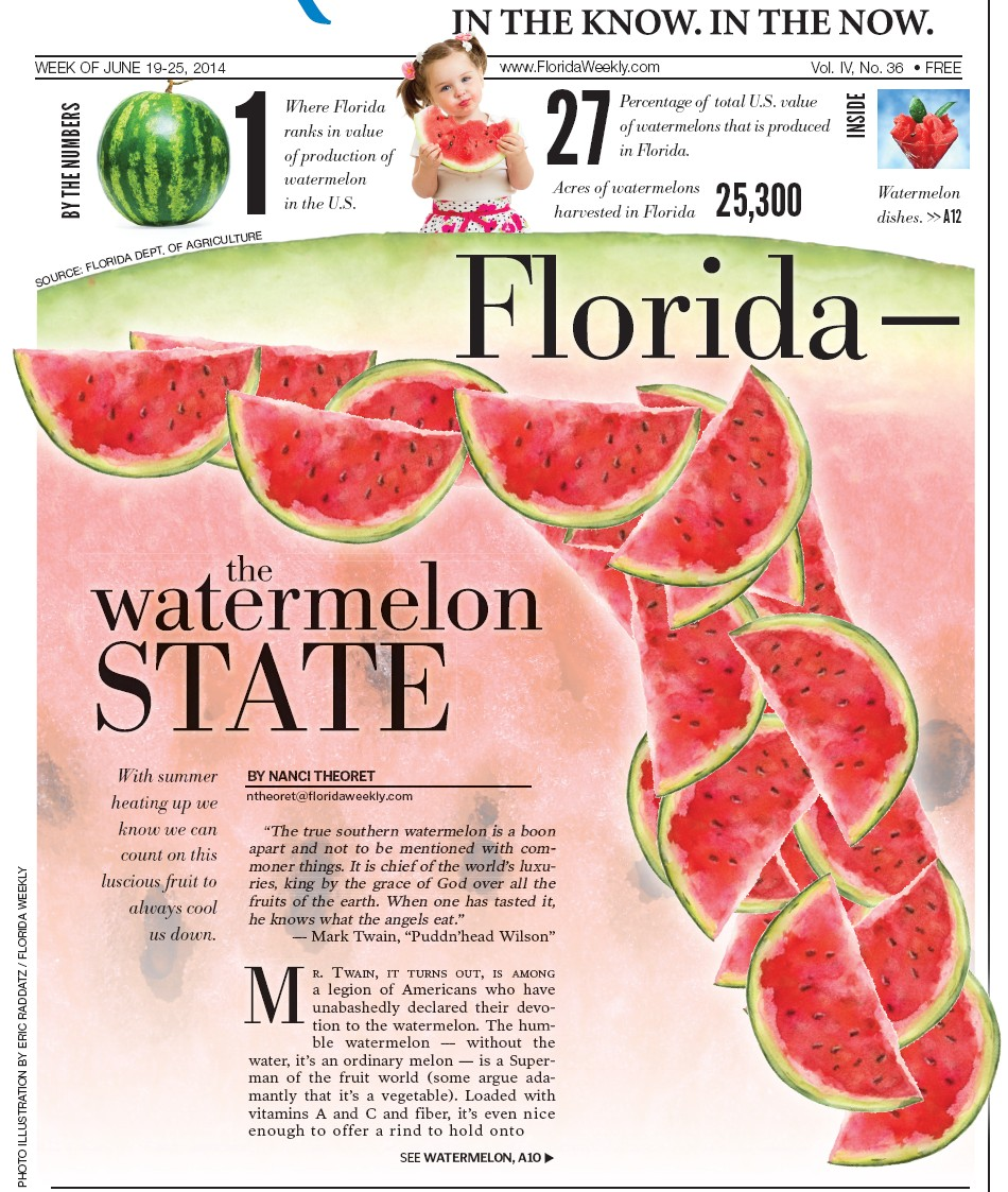 Florida — the watermelon STATE | Palm Beach Florida Weekly