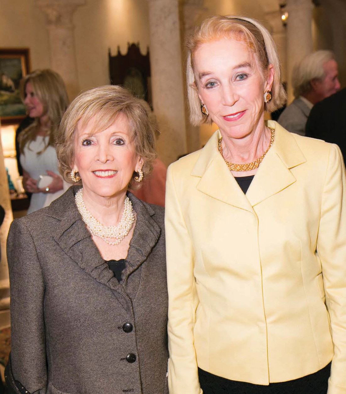 Reception for Cleveland Clinic ball, home of Jane Told and
