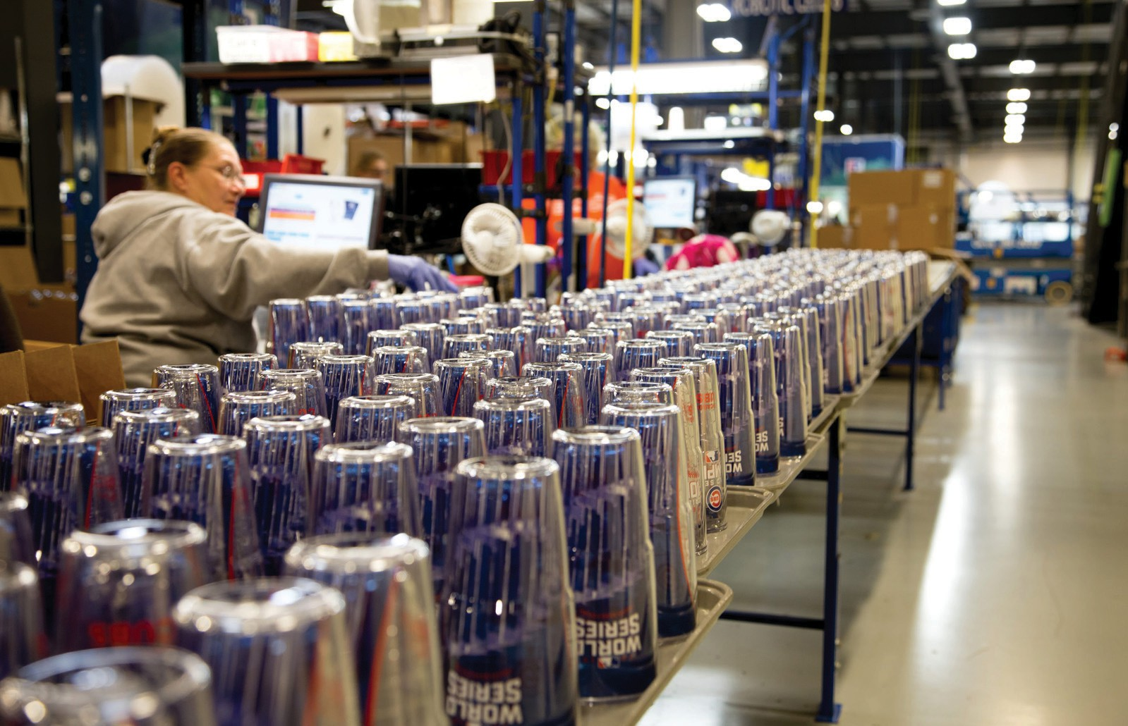 7a12e034b85 Within 14 hours of the Chicago Cubs winning the World Series, Tervis  produced 54,000 pieces